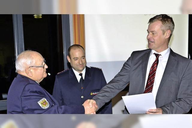 Recht ruhiges Jahr für die Feuerwehr