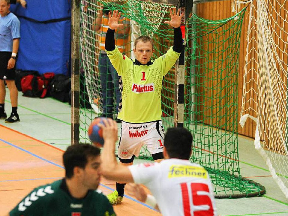 Torwart Christoph Plschek kommt vom HC Hedos Elgersweier.  | Foto: Alexandra Buss