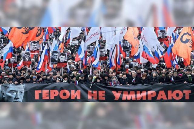 Entsetzen über Mord an Kremlkritiker