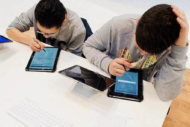 Tablets in der Schule: Offenburg startet modernes Projekt