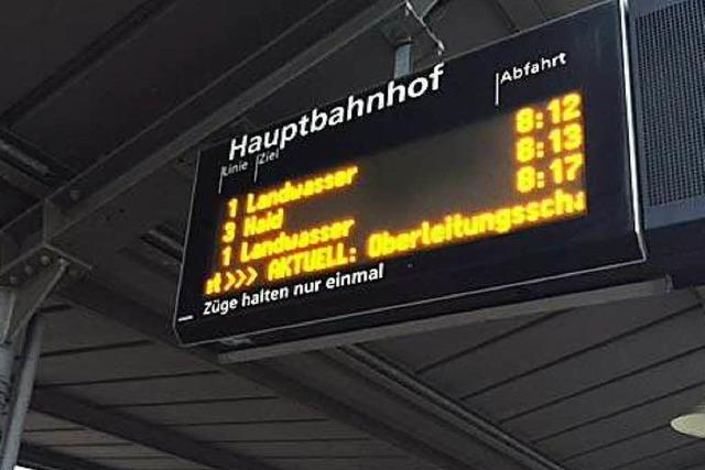 In Freiburg fuhren keine Straßenbahnen - wieder Panne beim VAG-Depot - Pendler im Stress