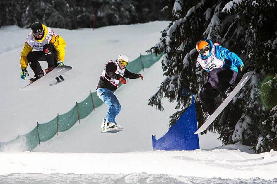 Downhill-Cross am Fahler Loch: Eindrücke von der Qualifikation am Samstag. (Foto: Baschi Bender)