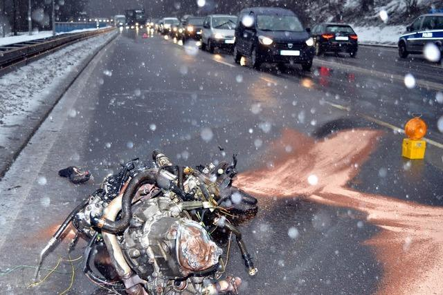 Unfall endet glimpflich