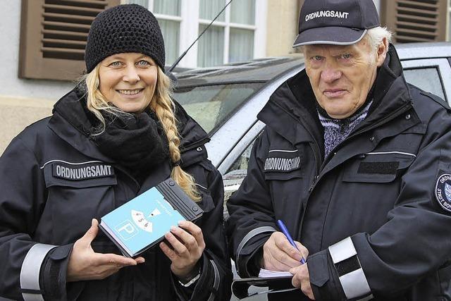Zwei neue Stadtsheriffs für Bonndorf