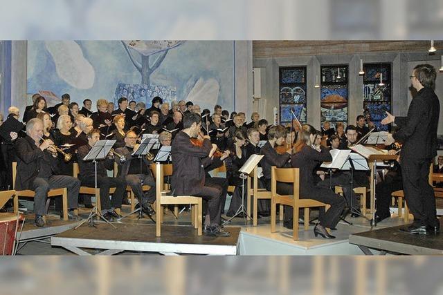 Chor wetteifert mit tollen Solisten