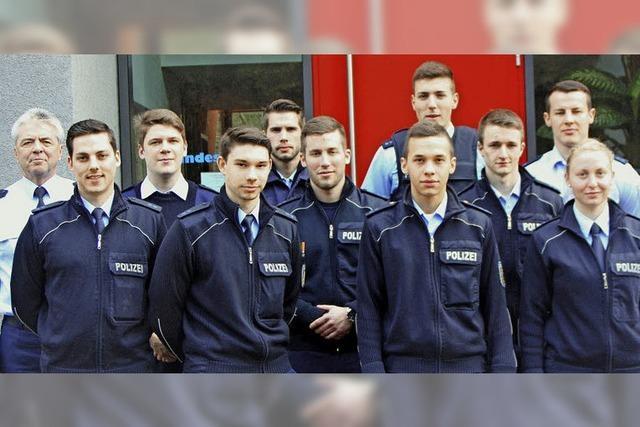 Verstärkung für die Polizeiarbeit