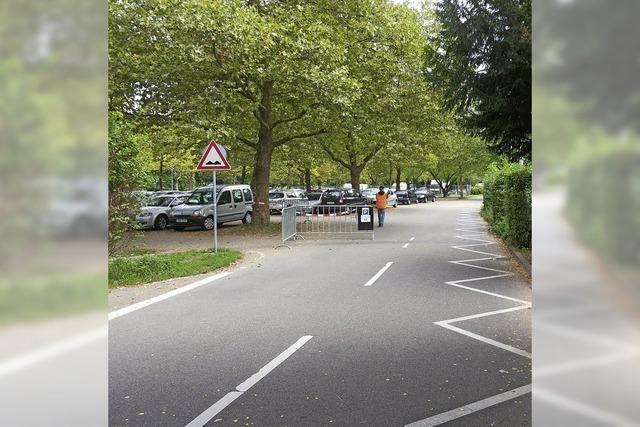 Stadt erweitert Strandbad-Parkplatz