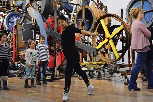 Tanz mit Mensch und Maschine