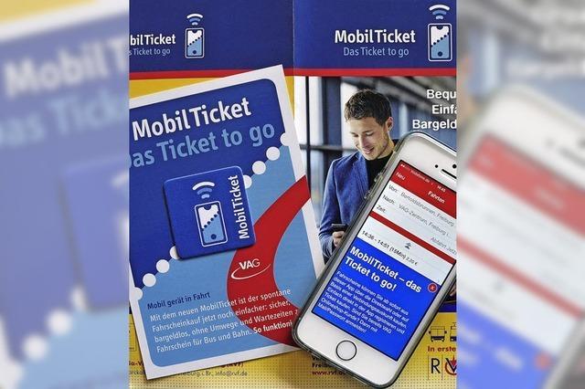 Mit dem Handy-Ticket der VAG soll es einfacher gehen