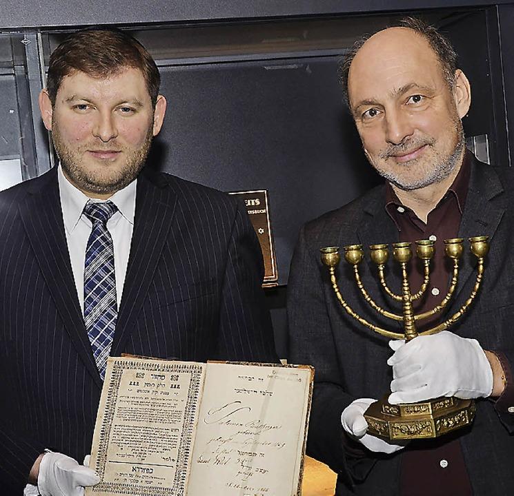 Das Museum bot die Plattform für den N...Moehring mit Judaica aus der Sammlung.    Foto: Nikolaus Trenz