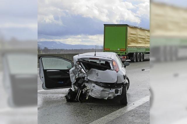 Autobahn kurzfristig voll gesperrt
