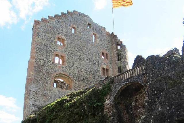 Die Sanierung wird mit einem großen Burgfest gefeiert