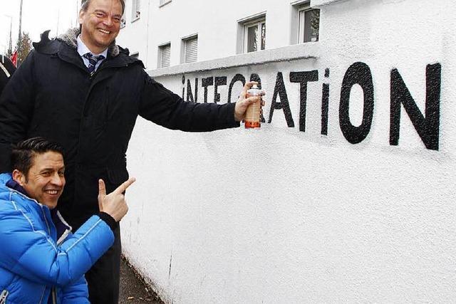 Graffiti soll bei Integration helfen