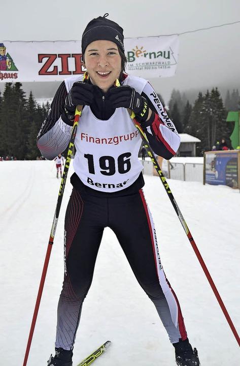 Die Jugendliche Johanna Knöpfle musste...eter  nur einer Konkurrentin  beugen.   | Foto: Helmut Junkel