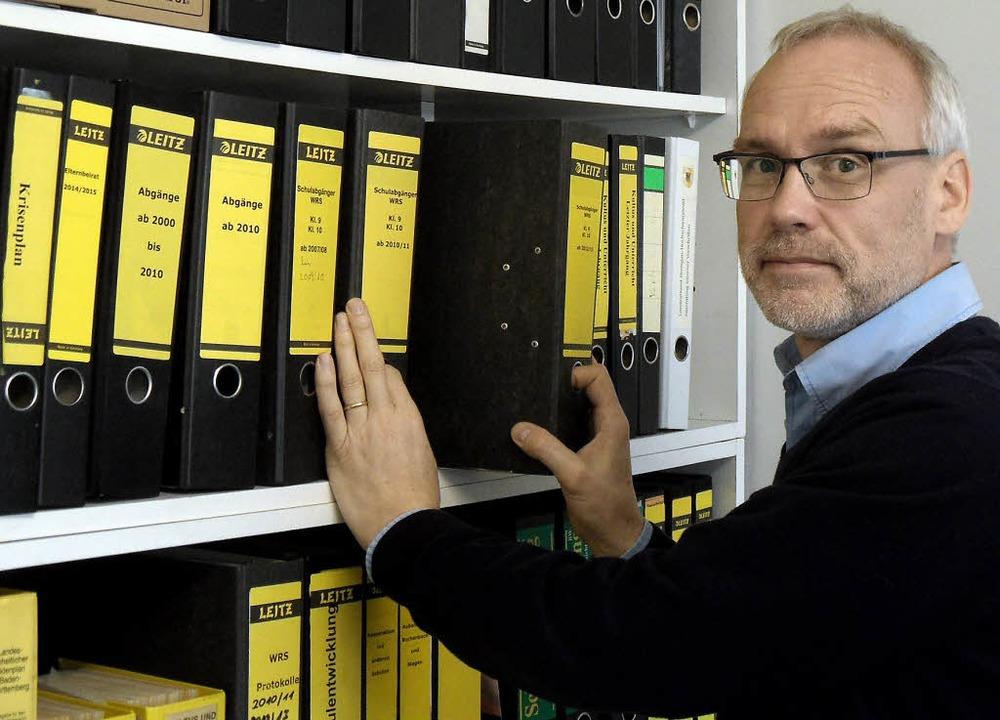 Neuer Leiter der Werkrealschule Dreisamtal: Uwe Peters     Foto: Markus Donner