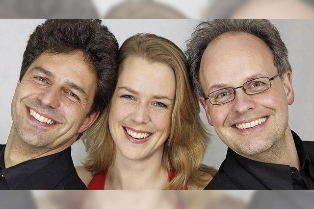 Ibert-Trio im Ev. Gemeindezentrum in Kirchzarten