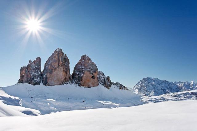 Skireise mit Pieps