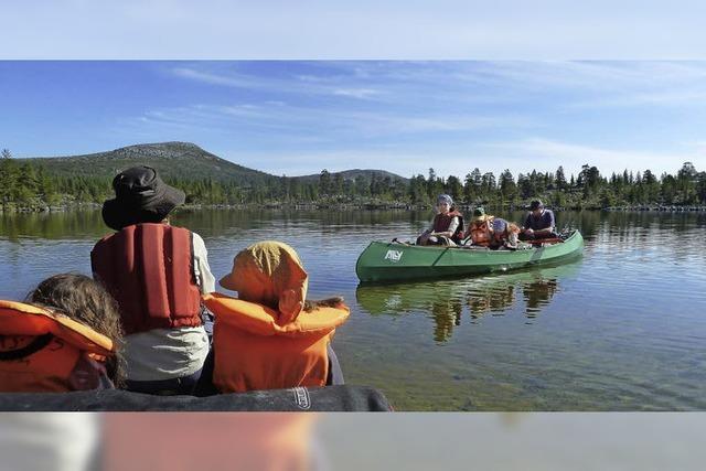Mit dem Kanu durch die Wildnis
