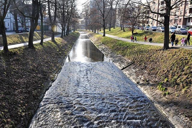 Birsig könnte Innenstadt in Basel überfluten