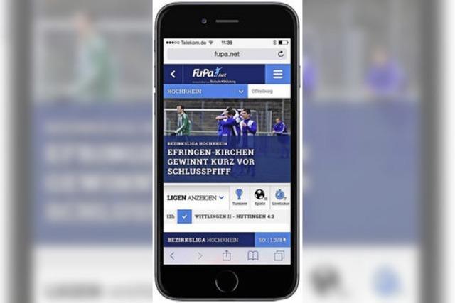 FuPa Südbaden startet Smartphone-App