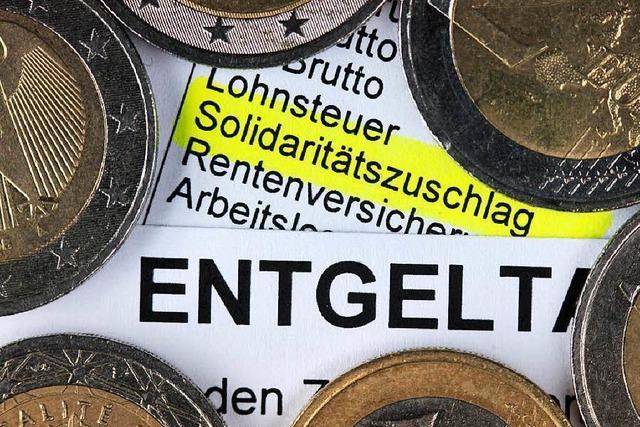 Solidaritätszuschlag soll auslaufen – Kritik von Länderseite