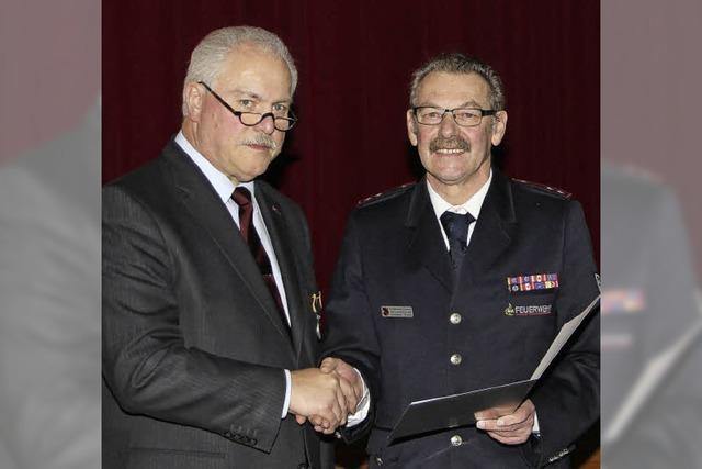 Ehrenmedaille der Wehr für Gabriel Schweizer