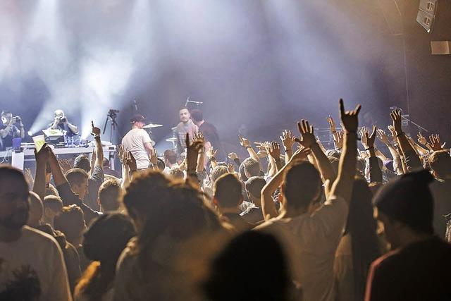BScene mit 60 Acts auf zehn Bühnen in Basel