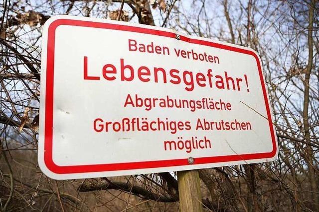 Tödlicher Badeunfall: Wie reagieren Kieswerke und Verwaltungen?