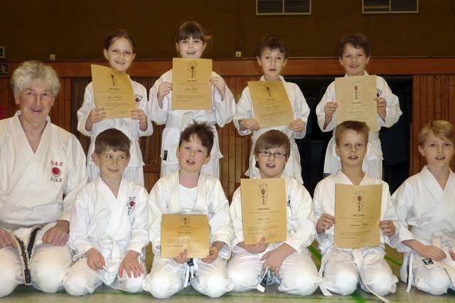 Zuwachs für Karatekas