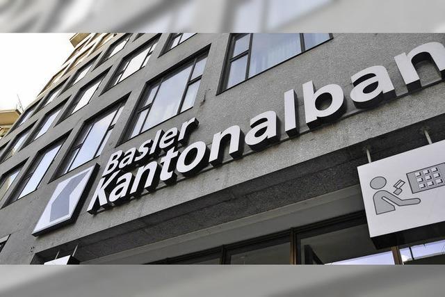 Basler Kantonalbank: Stabiler Gewinn trotz Umbau und weniger Kunden