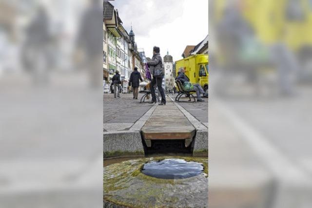 Neue Abdeckung für Stadtbach