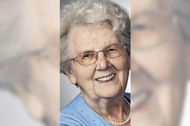 ZUR PERSON: Elisabetha Conrads wird 95