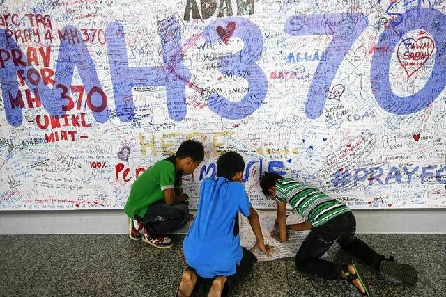 Flug MH370 ist seit einem Jahr verschwunden
