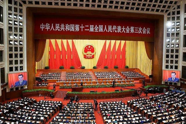 China ist ein Riesenreich mit Riesenproblemen