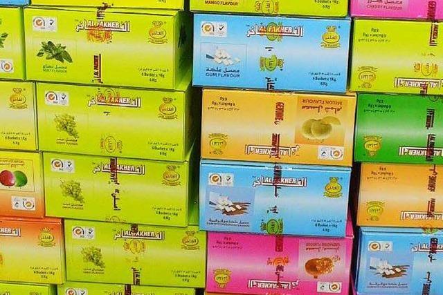 Zoll findet 510 Kilo Tabak für Wasserpfeifen
