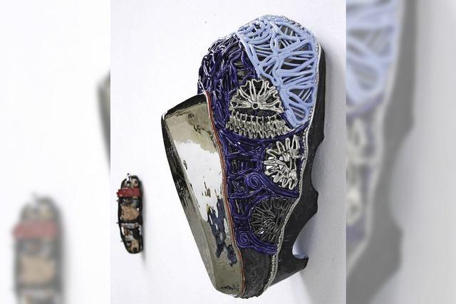 Stephan Hasslinger zeigt Keramikobjekte in Merdingen