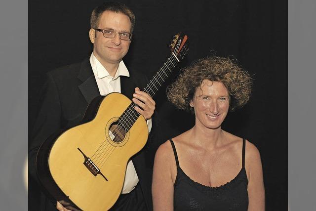 Silke Marchfeld und Sebastian Röhl in Badenweiler