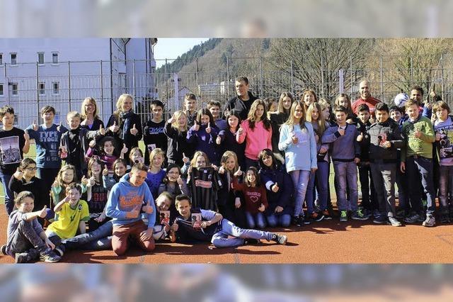 Fußballfieber bei Schülern