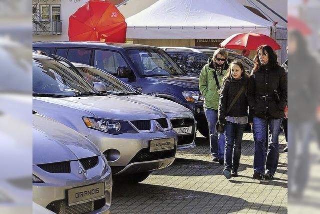 Zwei Tage lang dreht sich in Friesenheim alles rund ums Auto