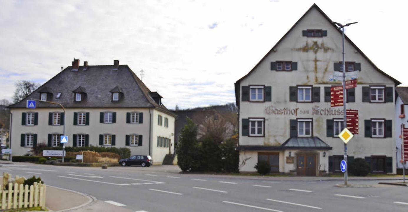 Auf dem Areal des Weingutes Blankenhor...nisiert und der Schlüssel abgerissen.   | Foto: Michael Behrendt