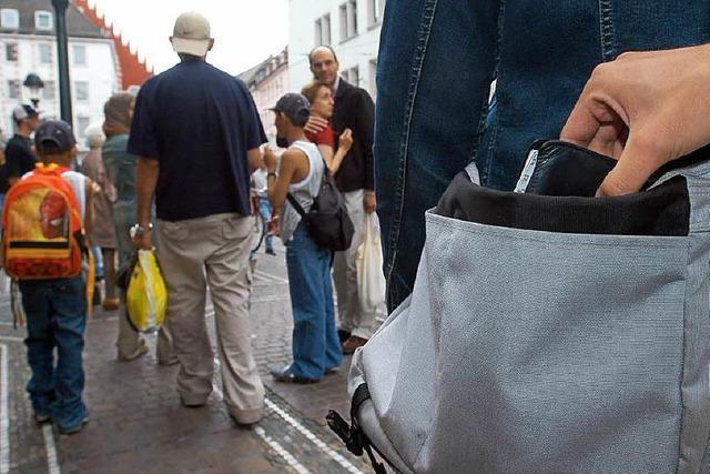 Freiburg ist die Stadt der Taschendiebe