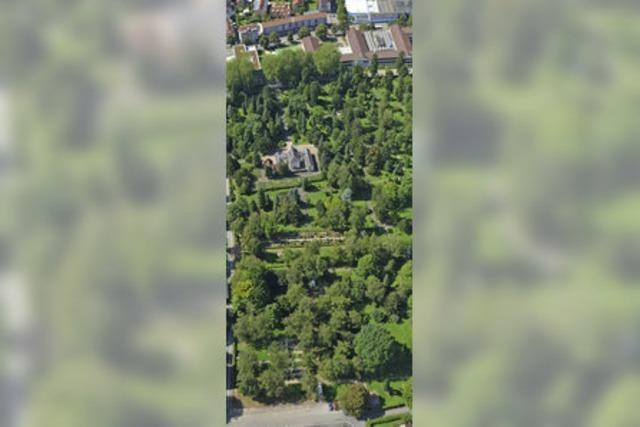 Der Waldbachfriedhof erinnert auch an die Weltkriege
