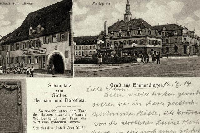 Goethe-Grüße aus Emmendingen