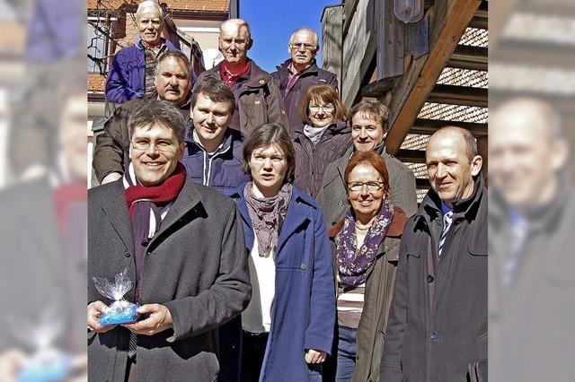Landrat besucht Grafenhausen
