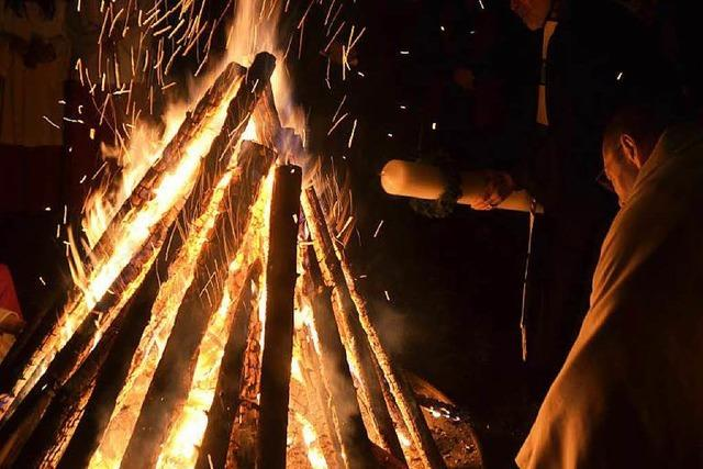 Forderung vom Finanzamt: Fällt das Osterfeuer dieses Jahr aus?