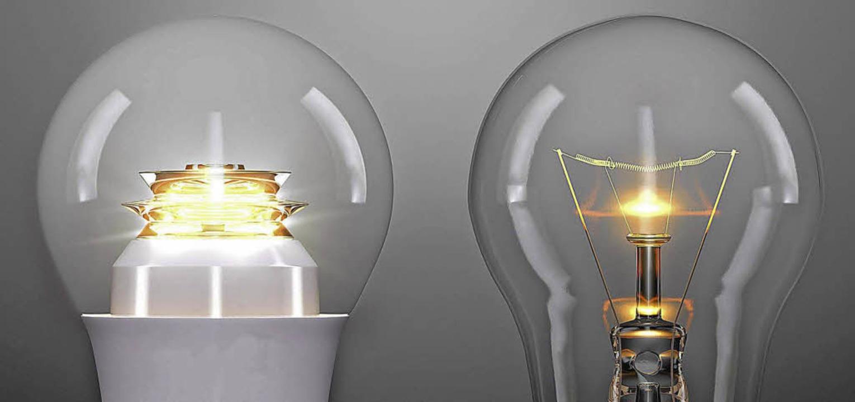 LED statt Glühbirne: Wie überzeugt man Käufer?   | Foto: dpa