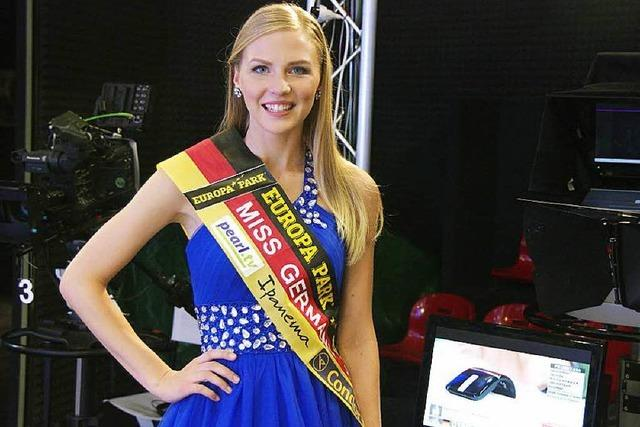 Miss-Germany moderiert Pearl TV