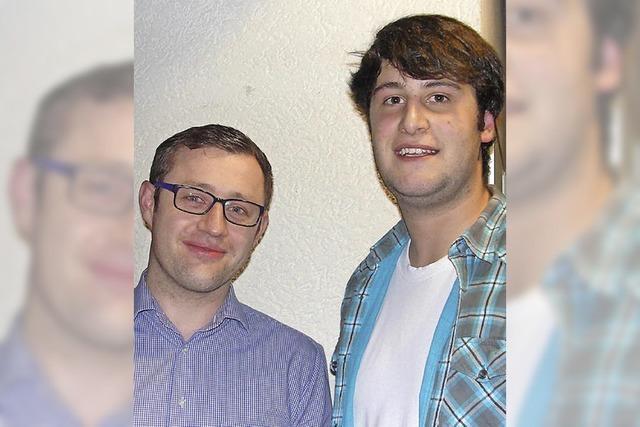 Zwei neue Gesichter im Vorstand des SV Feldberg