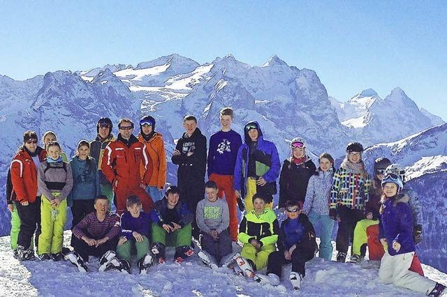 Spaß im Berner Oberland