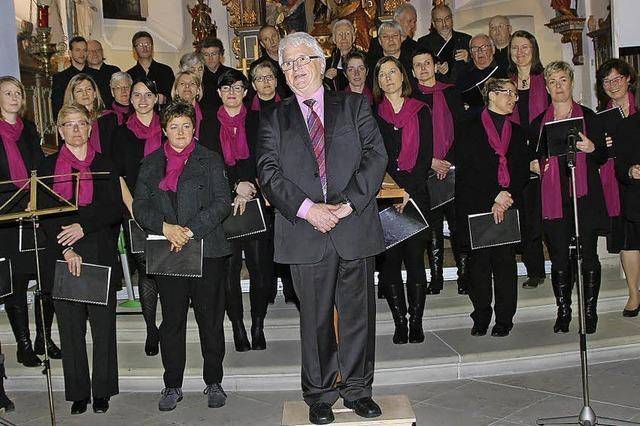 Kirchenchor singt nach Renovierung in St. Margareten
